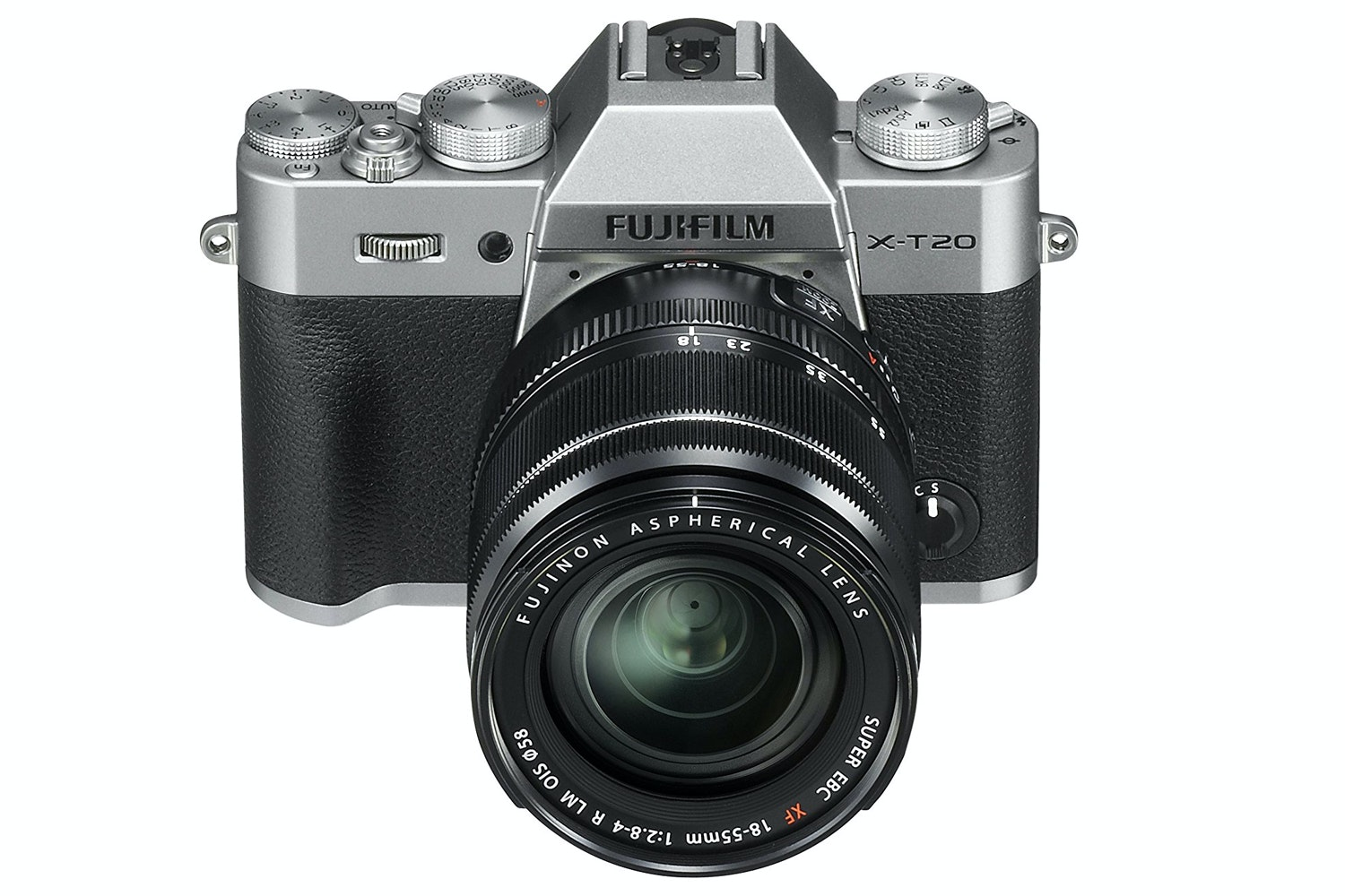 Fujifilm X-T20 & 18-55mm Lens Kit | Silver