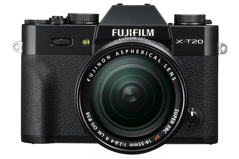 Fujifilm X T20 Mirrorless Digital Camera Black Ireland E3 Kit Xf 18 55mm F 28 4 R Lm Ois Silver