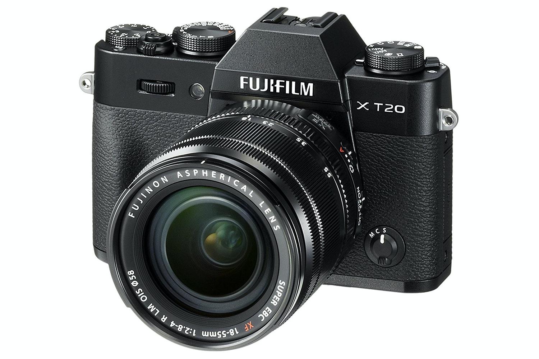 Fujifilm X-T20 Mirrorless Digital Camera | Black