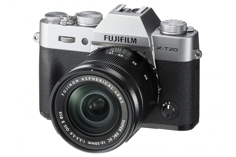 Fujifilm X-T20 & 16-50mm II Lens Kit | Silver