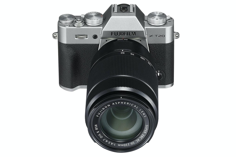 Fujifilm X-T20 Mirrorless Digital Camera | Silver