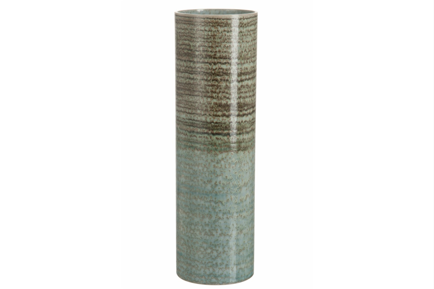Trans Stripe Ceramic Vase | Large