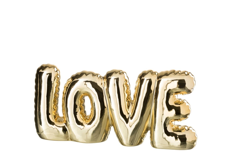 Love | Ceramic Gold