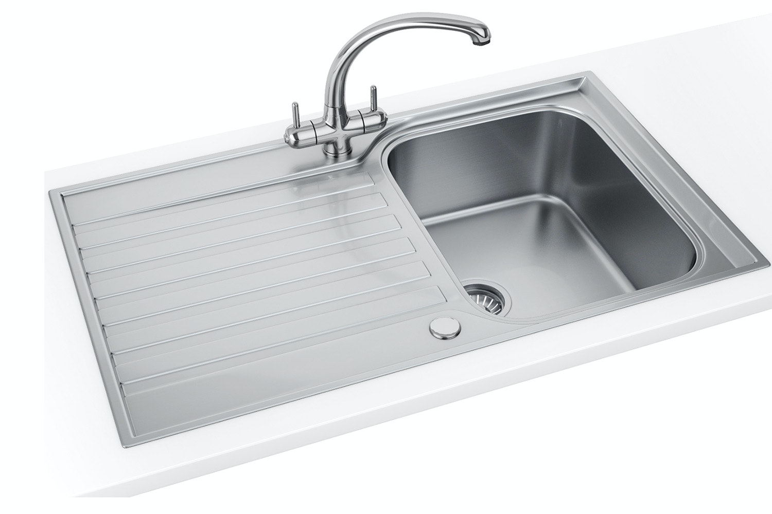 Franke Ascona Single Bowl Kitchen Sink | ASX611PACK