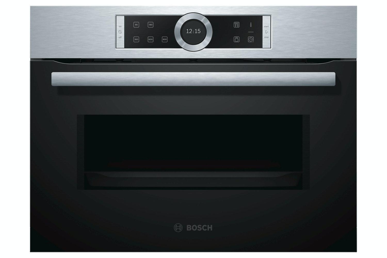 Bosch 36L 900W Built In Microwave Oven | CFA634GS1B | Black