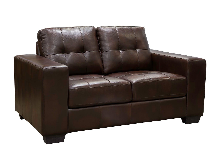 Caruba 2-Seater Sofa | Brown
