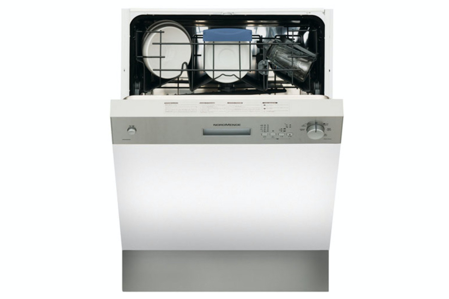 Nordmende Semi Integrated Dishwasher | 12 Place | DSSN60IX