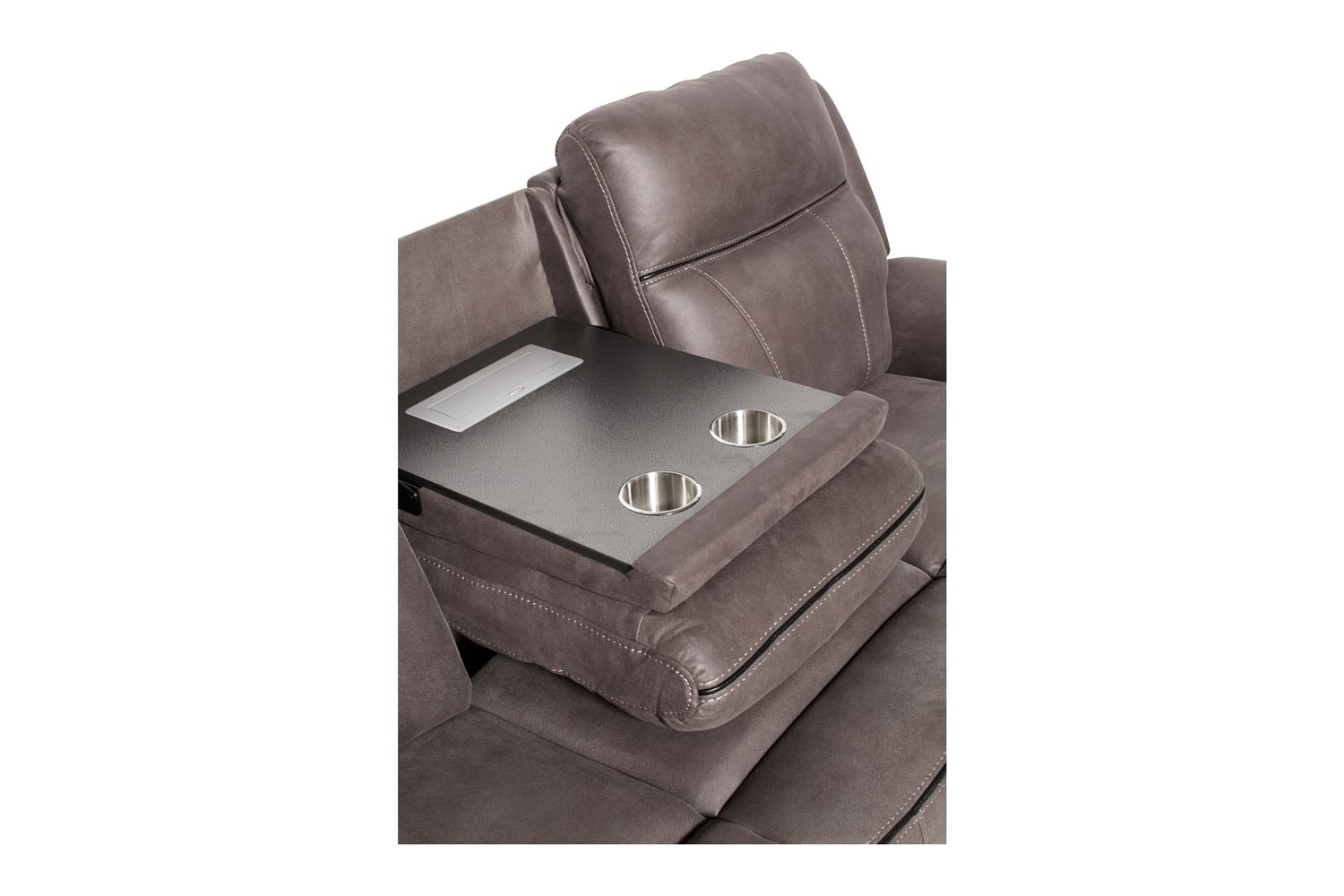 Lisbon 3 Seater Console | Grey