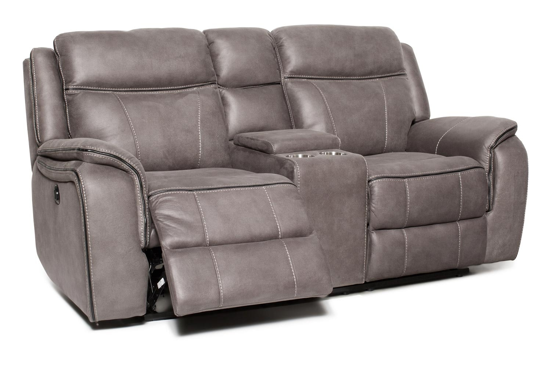 Lisbon 2 Seater Console | Grey
