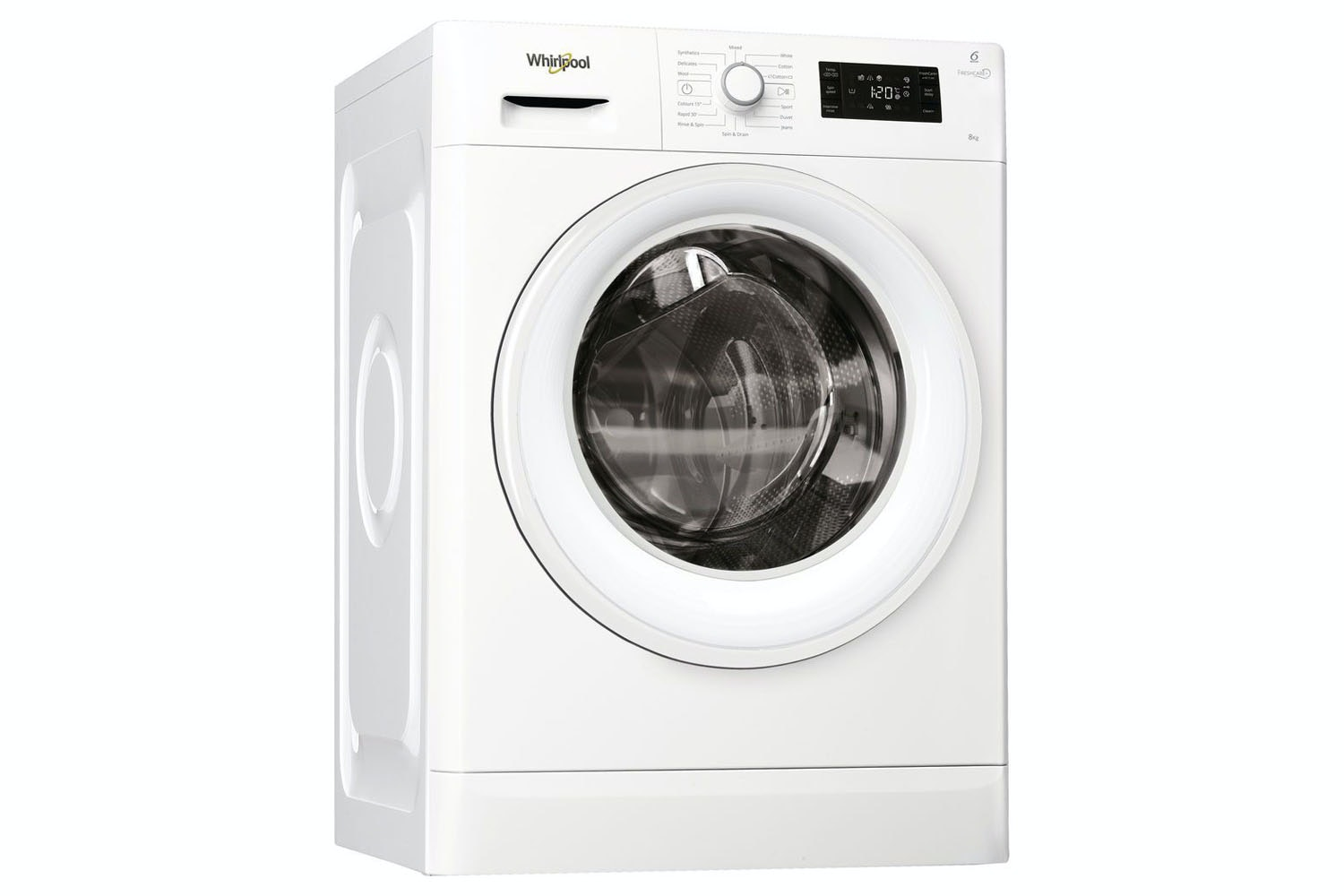 Whirlpool 8kg FreshCare Washing Machine | FWG81496WUK
