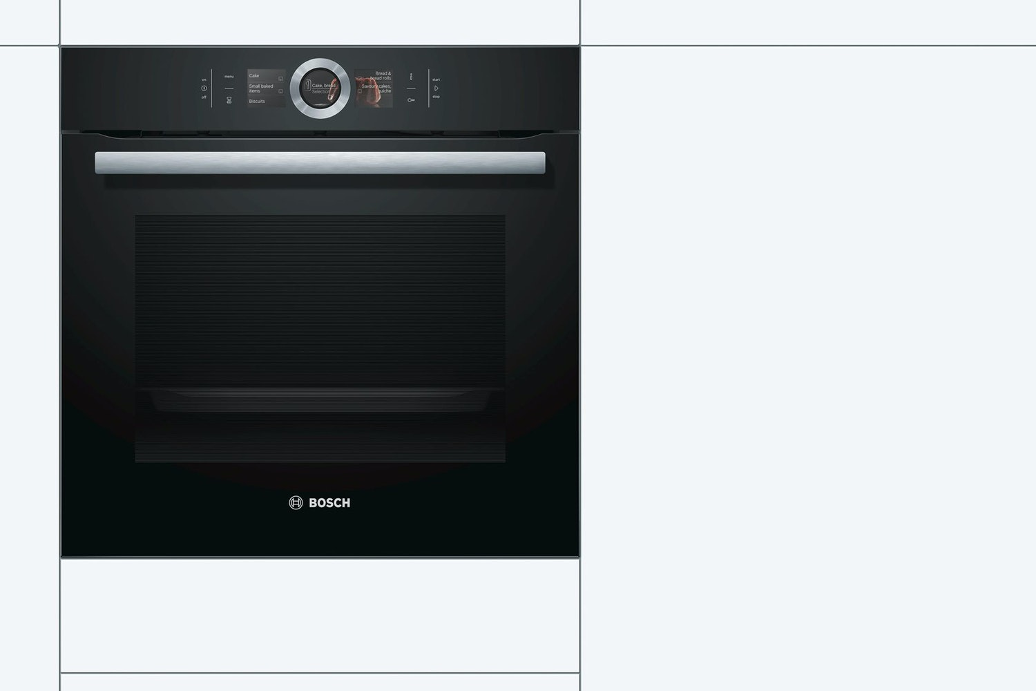 Bosch Series 8 Built-in Single Oven | HBG656RB6B