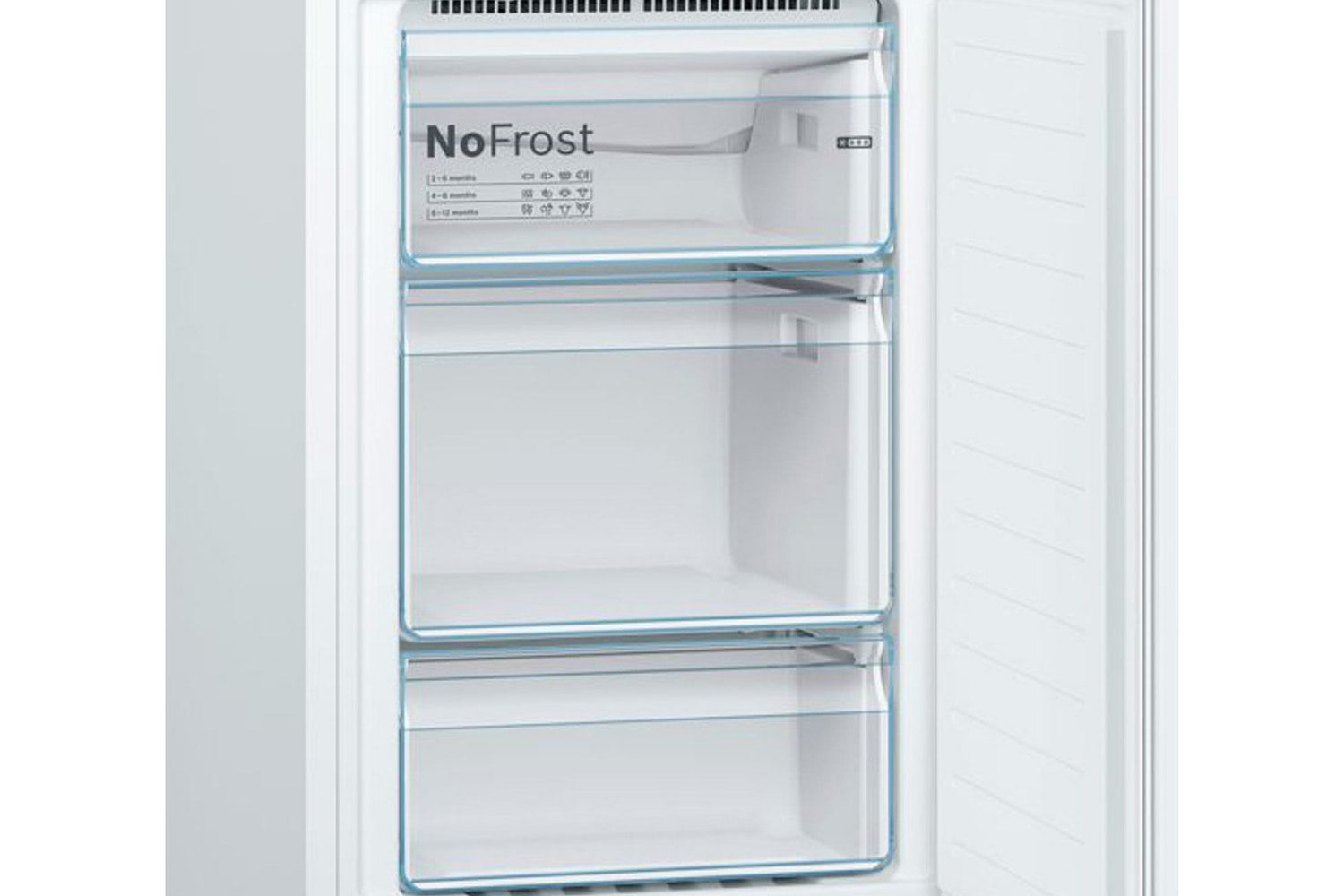 Bosch Serie 2 Freestanding Fridge Freezer | KGN34NW3AG