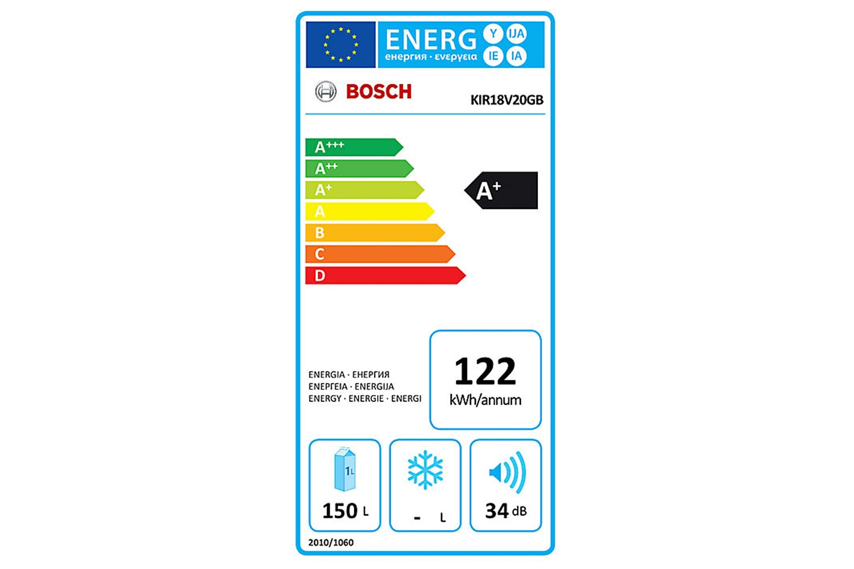 Bosch Series 2 Integrated Larder Fridge | KIR18V20GB