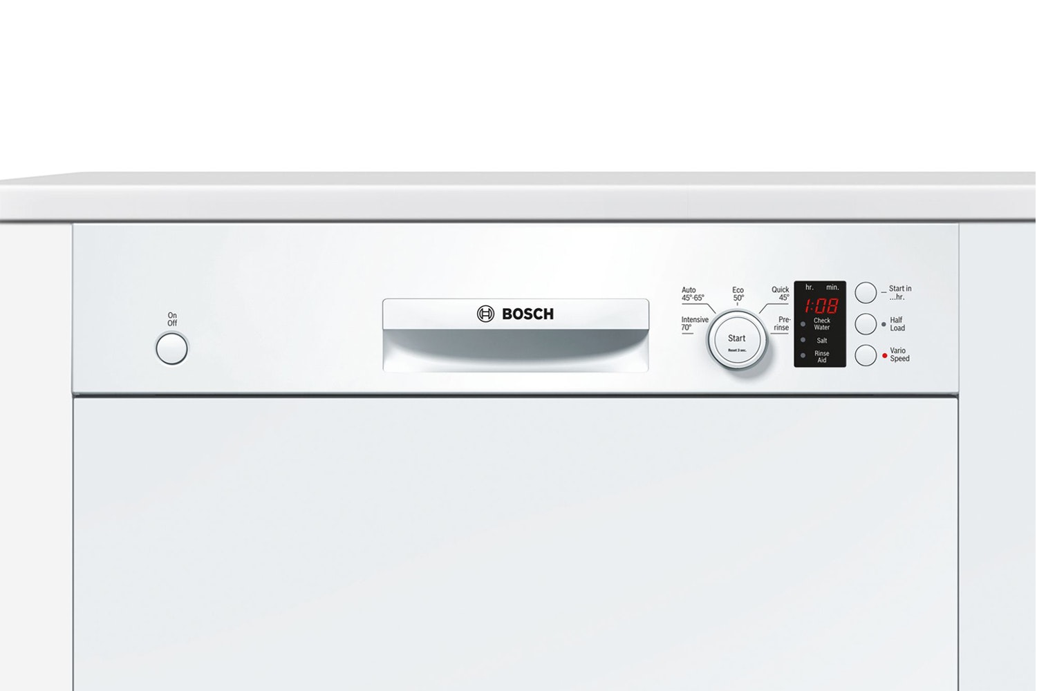 Bosch Serie 4 Semi Integrated Dishwasher | 12 Place | SMI50C12GB