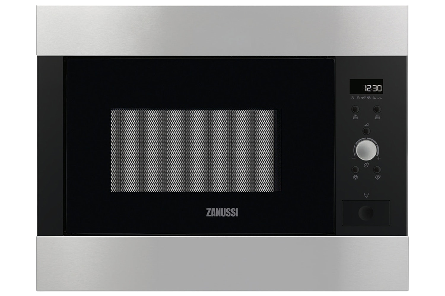 Zanussi 26L 900W Built In Microwave | Stainless Steel