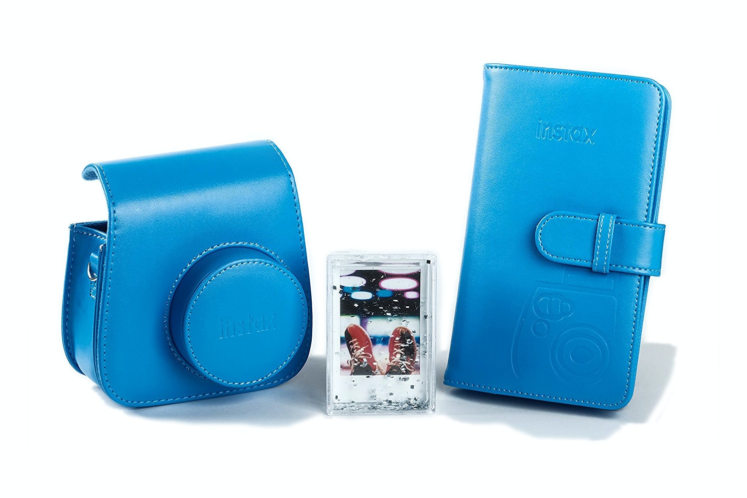 Fujifilm Instax Mini 9 Accessory Kit | Cobalt Blue