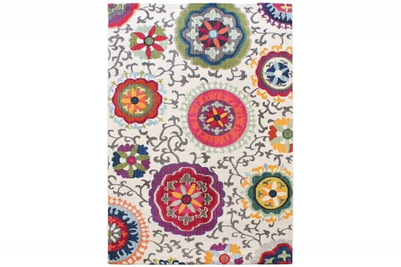 Colores Multi Floral Cirlcles | 160X230