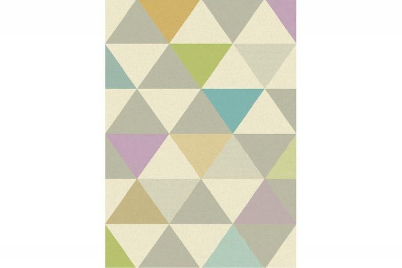 Focus Pastel Triangles Rug