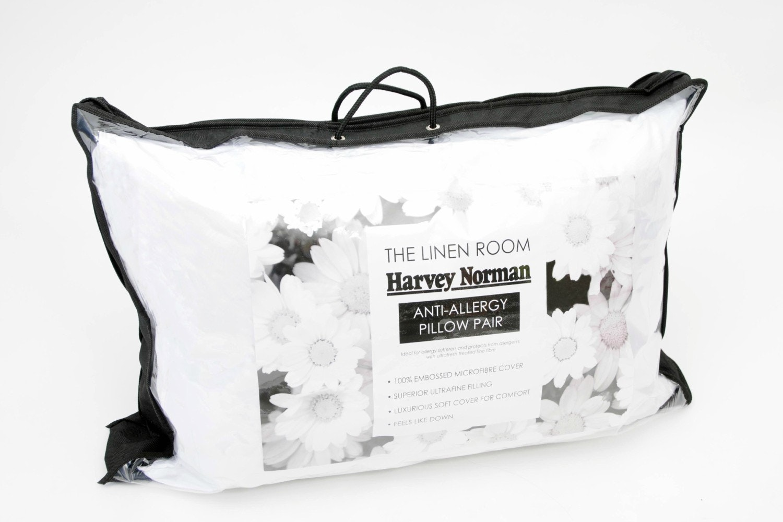 The Linen Room  Anti - Allergy Pillow Pair