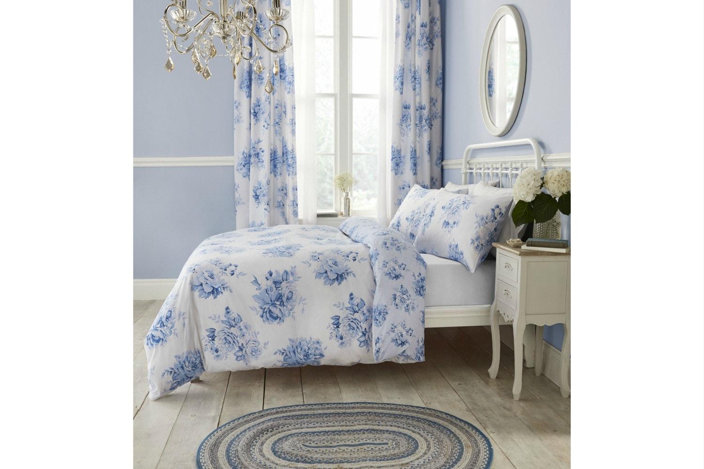 Canterbury Floral Blue Duvet Cover   King