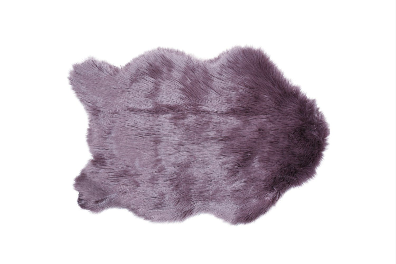 Groovy Faux Sheepskin Rug Amethyst 60 X 90 Cm Pabps2019 Chair Design Images Pabps2019Com