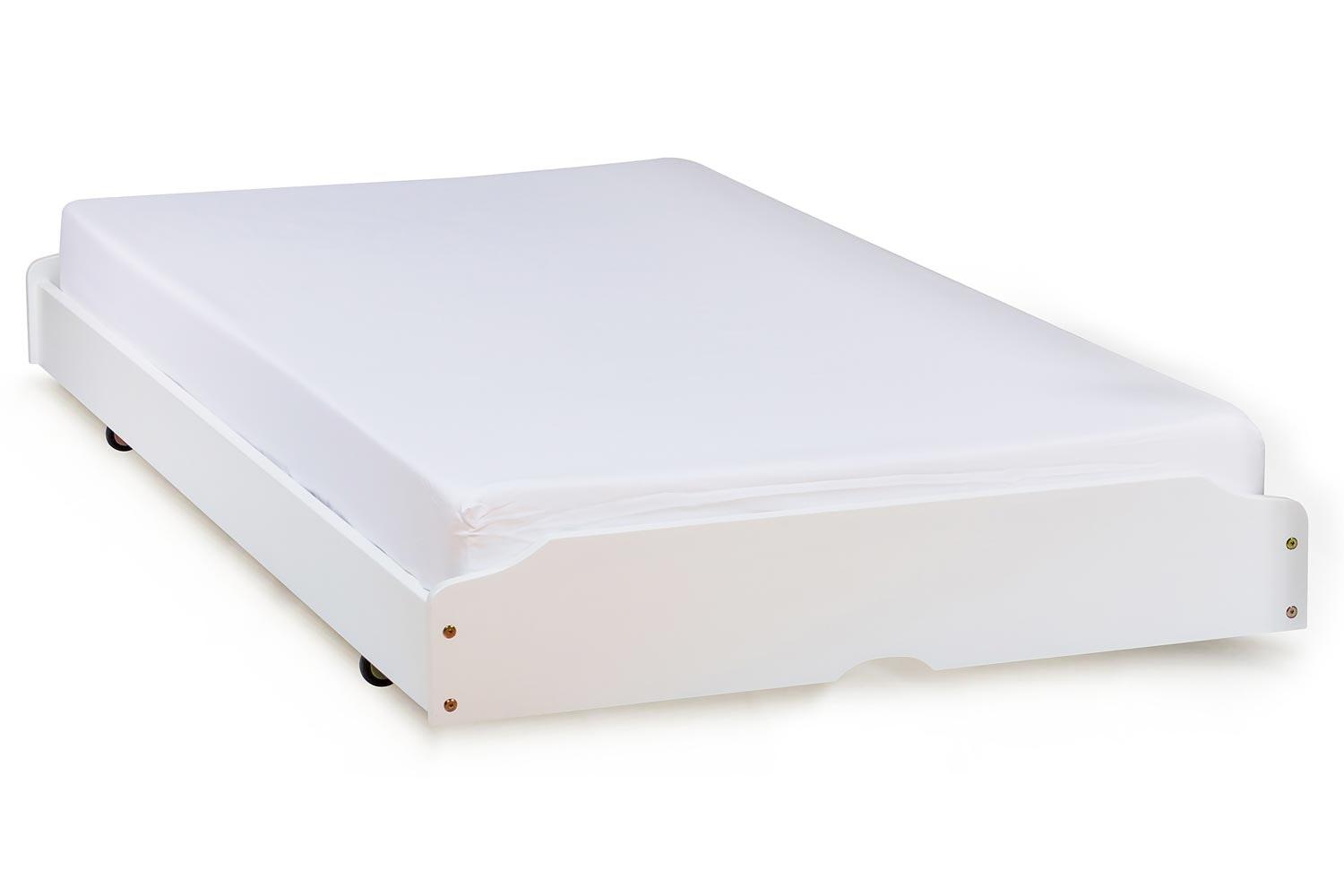Shaker Trundle Pull Out | 3 Ft| White