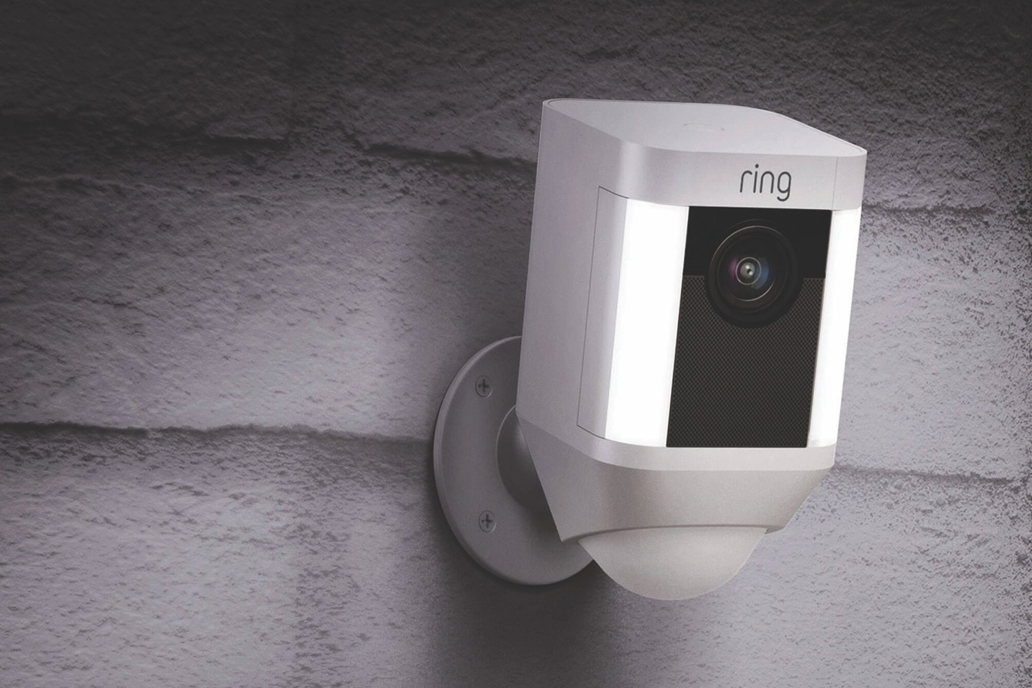 Ring Spotlight Camera Battery | White