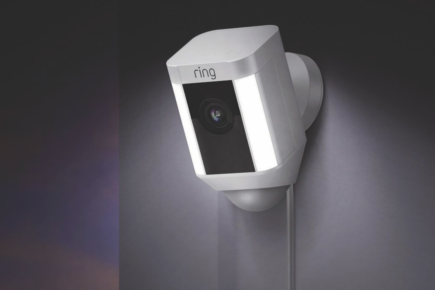 Ring Spotlight Camera Wired | White