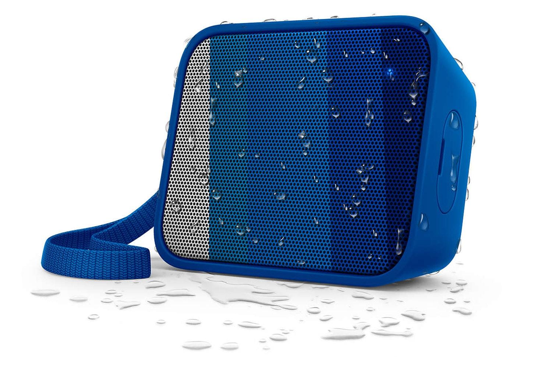 Philips Splash-Proof Wireless Portable Speaker | Blue