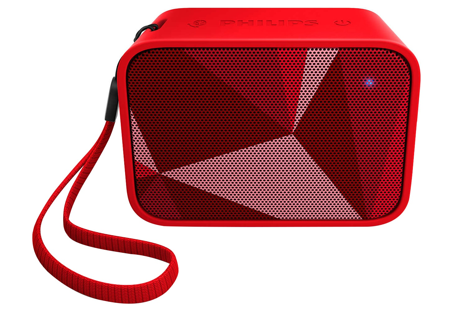 Philips PixelPop Wireless Portable Speaker | Red