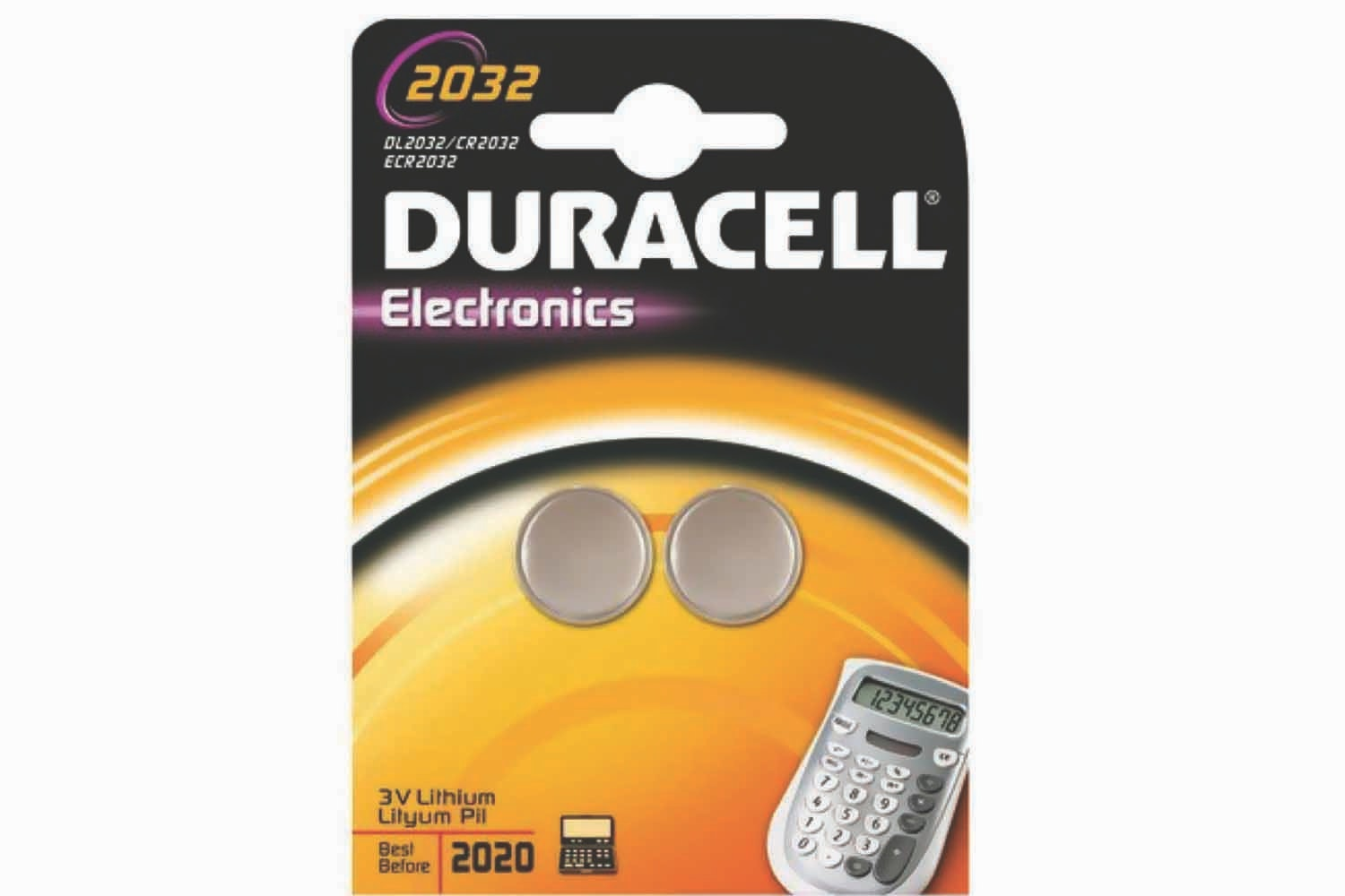 Duracell CR2032 Coin Cell Battery | 2 Pack