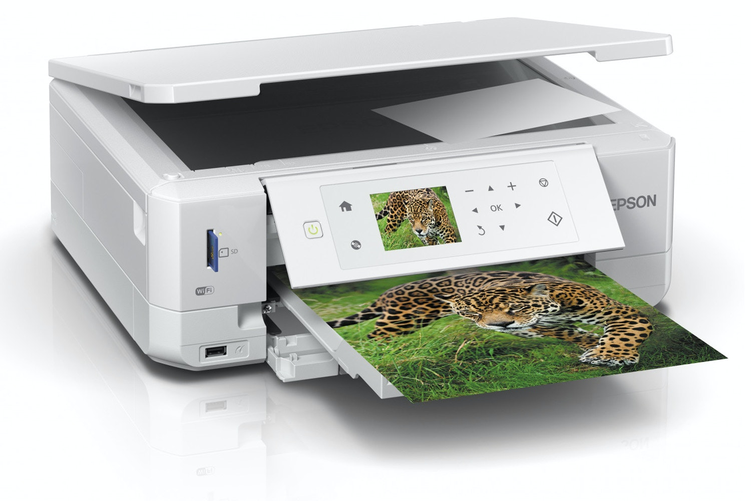 Epson Expression Premium XP-645 Inkjet Printer | White