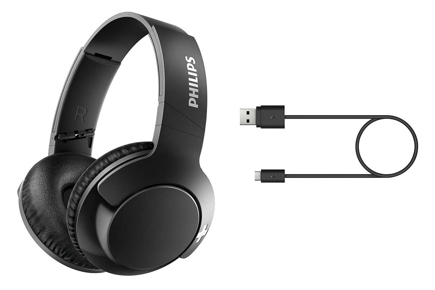 Philips Over Ear Bluetooth Headphones | Black