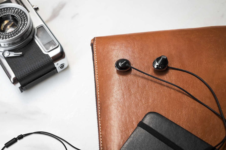 Philips Headphones with Mic | Black