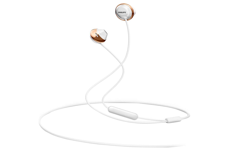 Philips Headphones with Mic | White