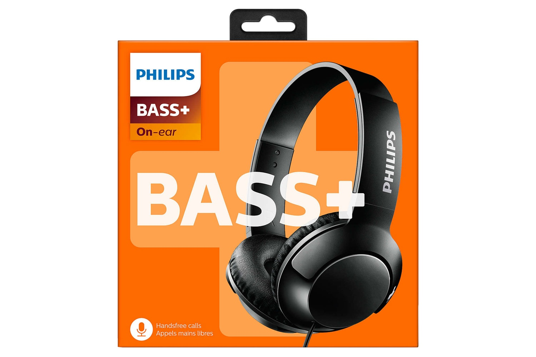 Philips On Ear Headphones with Mic | Black