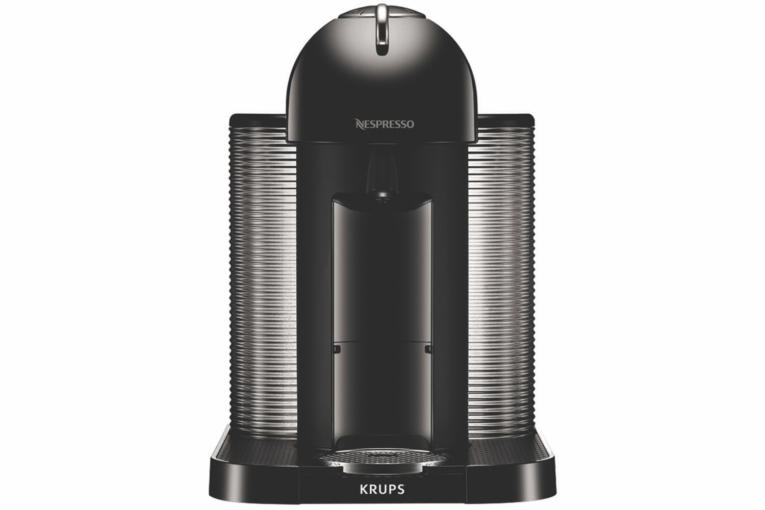 Krups Nespresso Vertuo coffee machine | Piano Black