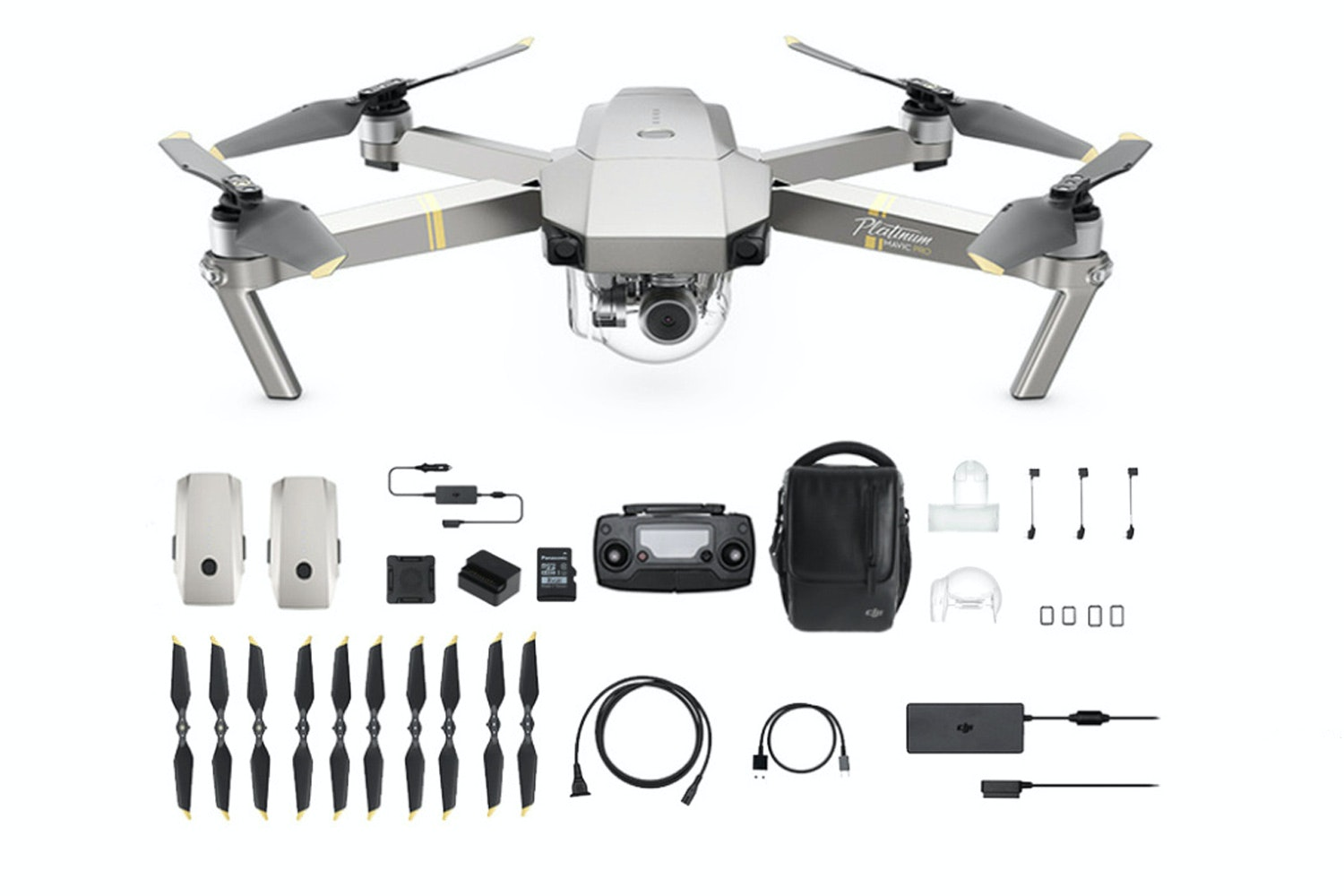 DJI Mavic Pro Platinum | Fly More Combo
