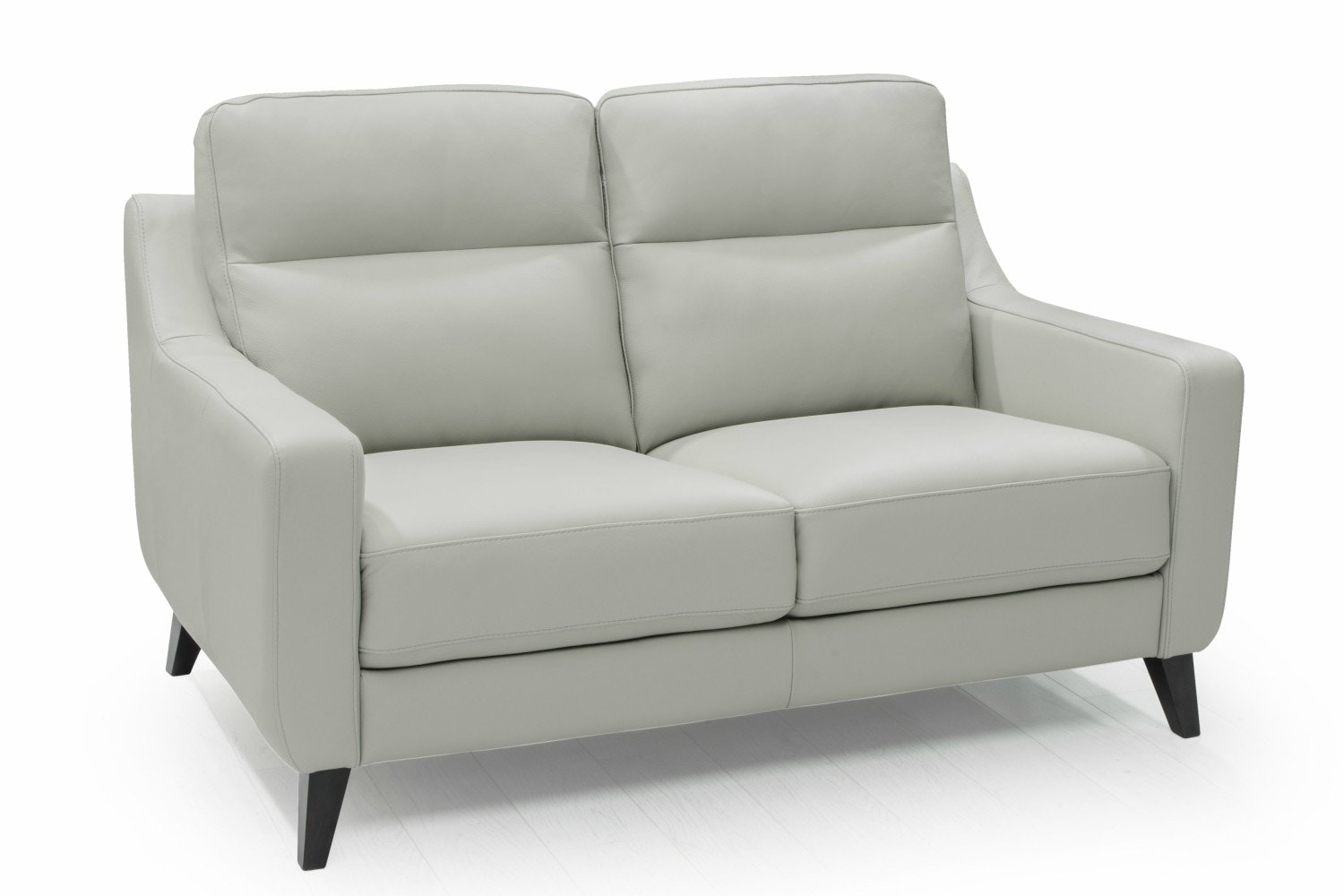 Borgo 3 Seater Leather Sofa | Grey