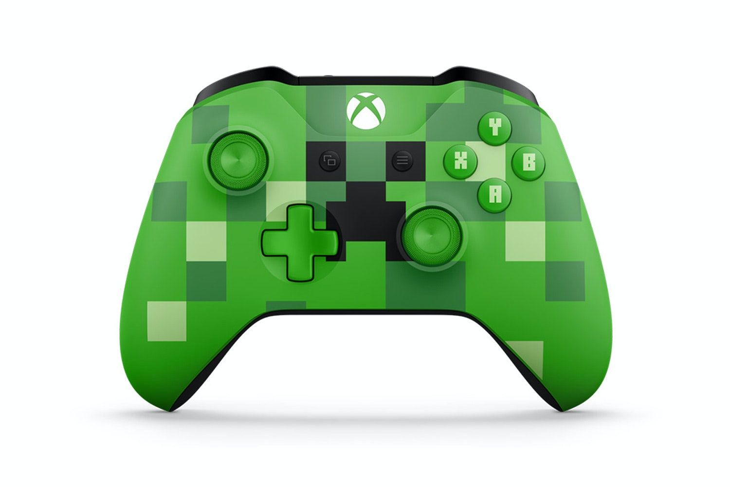 Xbox One Controller | Green Minecraft