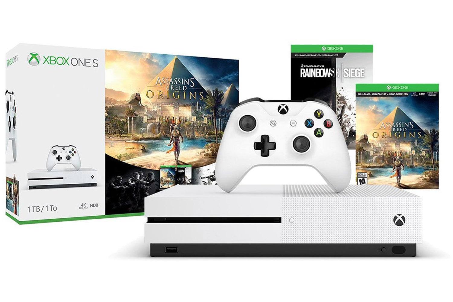 Video Games & Consoles Intelligent Xbox One S 1tb Empty Box Only-no Outer Sleeve Big Clearance Sale