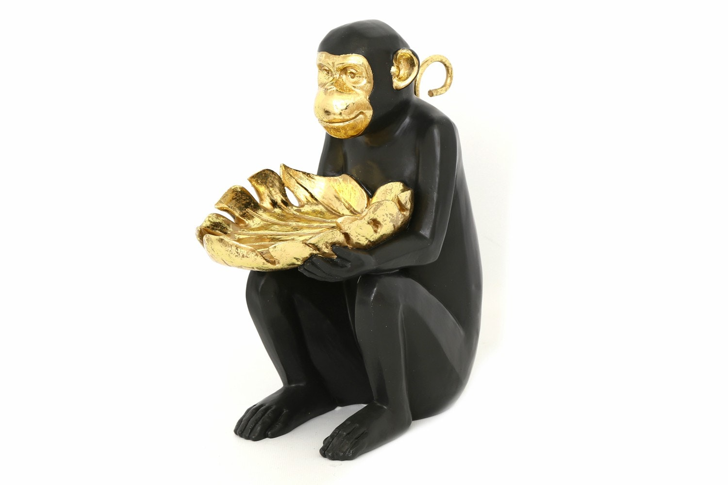 Black & Gold Monkey Deco