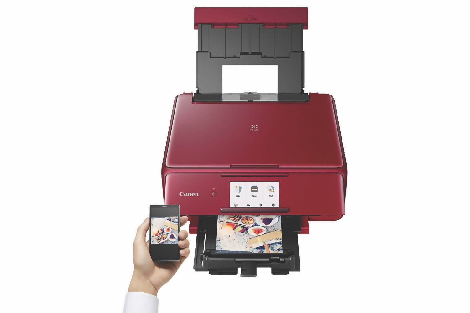 Canon Pixma TS8152 All In One Inkjet Printer | Red