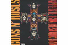 Guns N Roses Appetite for Destruction Vinyl LP
