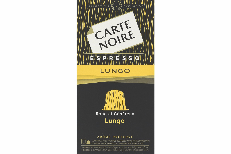 Carte Noire Lungo Nespresso Coffee Capsules