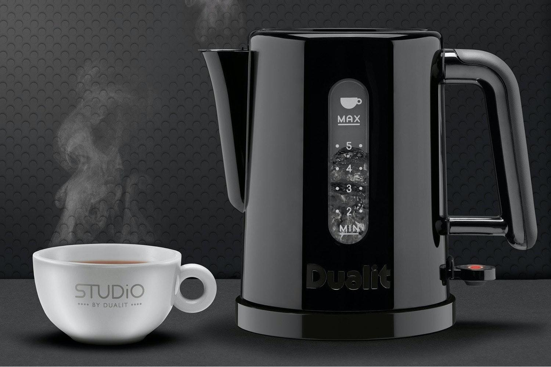 Dualit 1.5L Studio Kettle | 72110 | Black