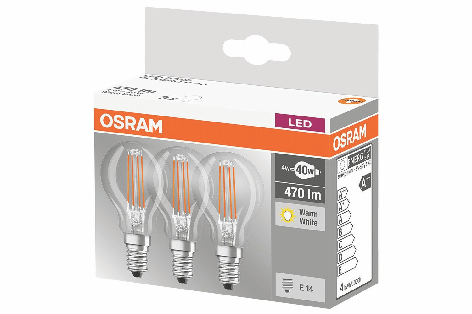 Osram Classic LED Base | Warm White
