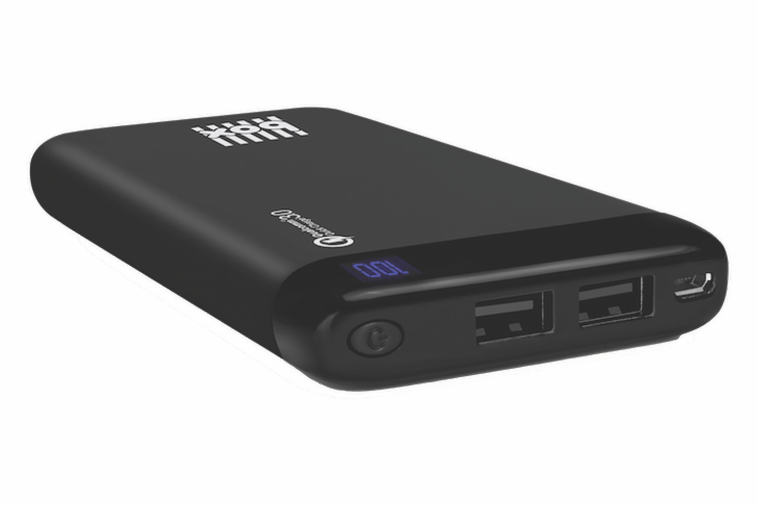 Box Quick Charge 3.0 10000mAh Power Bank | Black