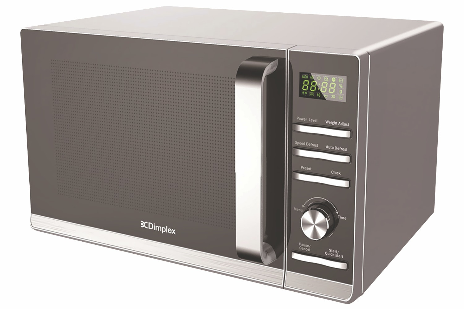 Dimplex 23L 900W Freestanding Microwave | Silver
