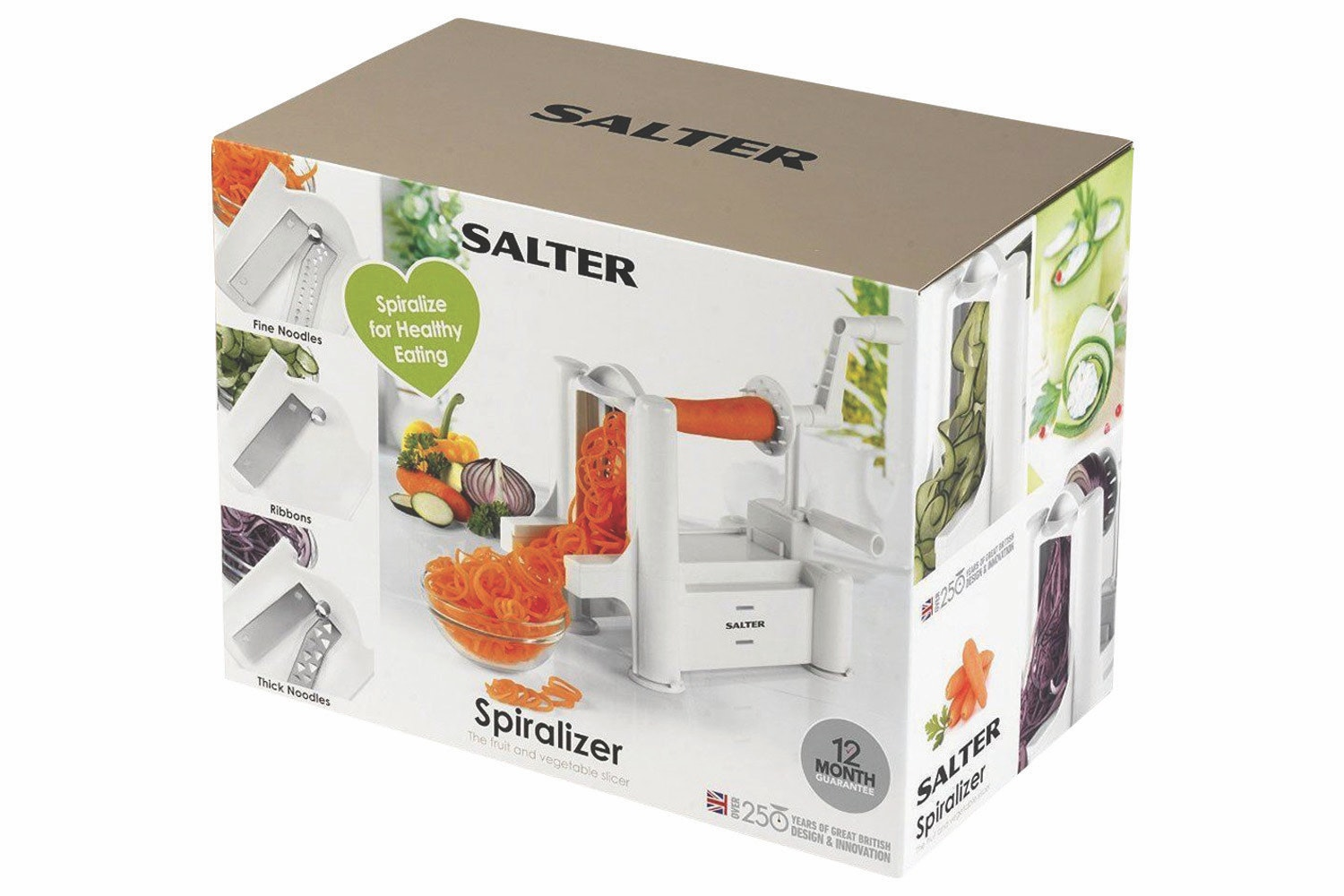 Salter Fruit and Vegetable Spiralizer | BW04294